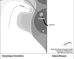 Figure 2 : Le District horloger : un système transfrontalier dissymétrique mais très complémentaire