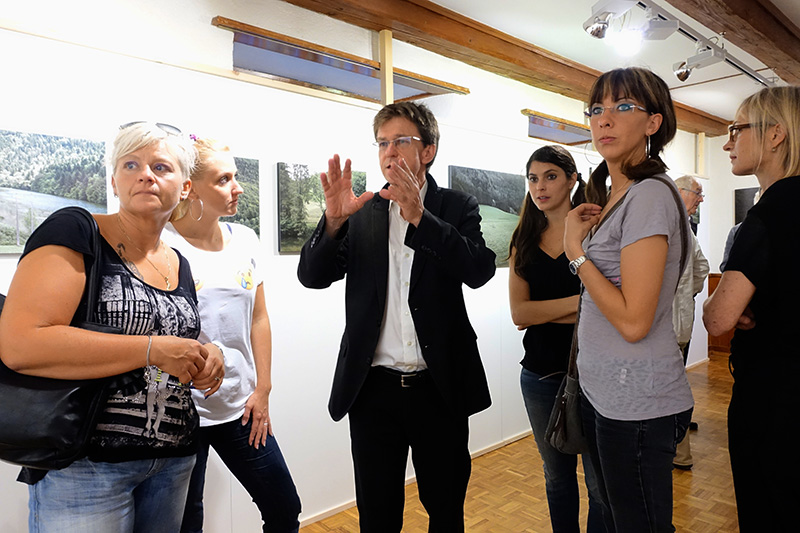 SAINT-URSANNE PHOTOGRAPHIE, vernissage samedi 20 septembre 2014 ©Michael von Graffenried