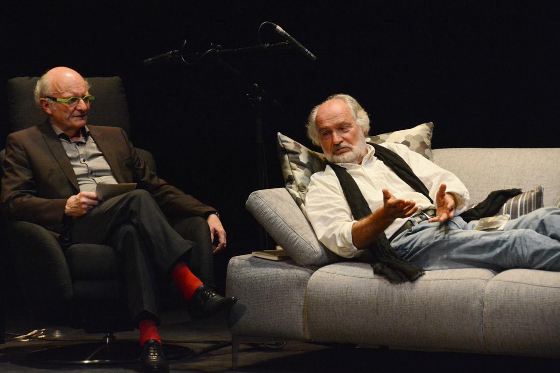 « Le Doubs, objet défendu » Théâtre de Morteau 25.10.2014 Romain Devaux, Pierre Chessex.