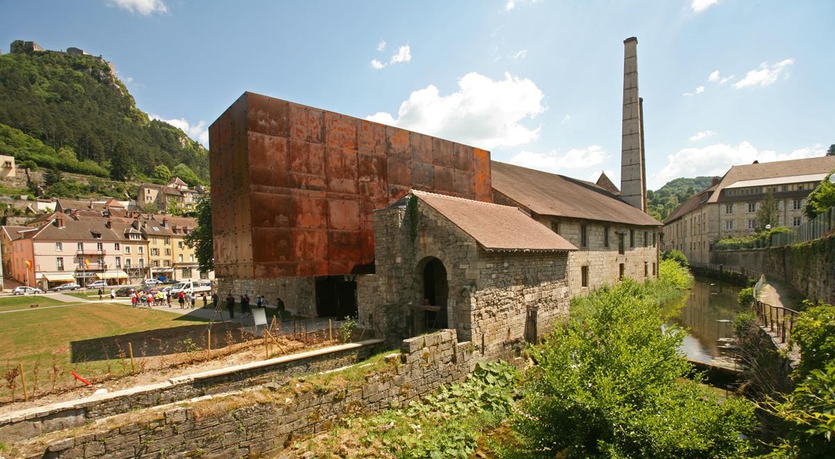 La Grande Saline – Musée du Sel – Salins-les-Bains ©cl. Y.GouxMusée du Sel