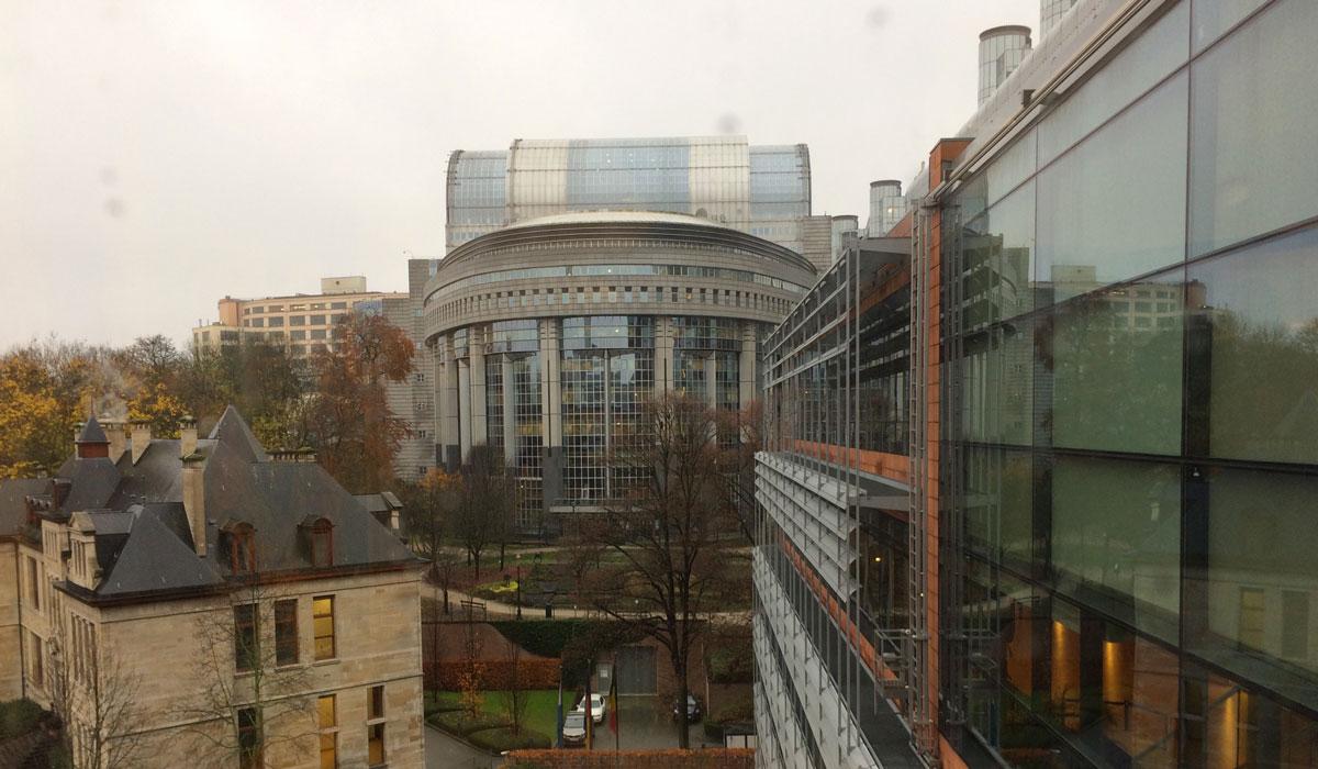 Bruxelles, le Parlement européen ©Marcel Schiess