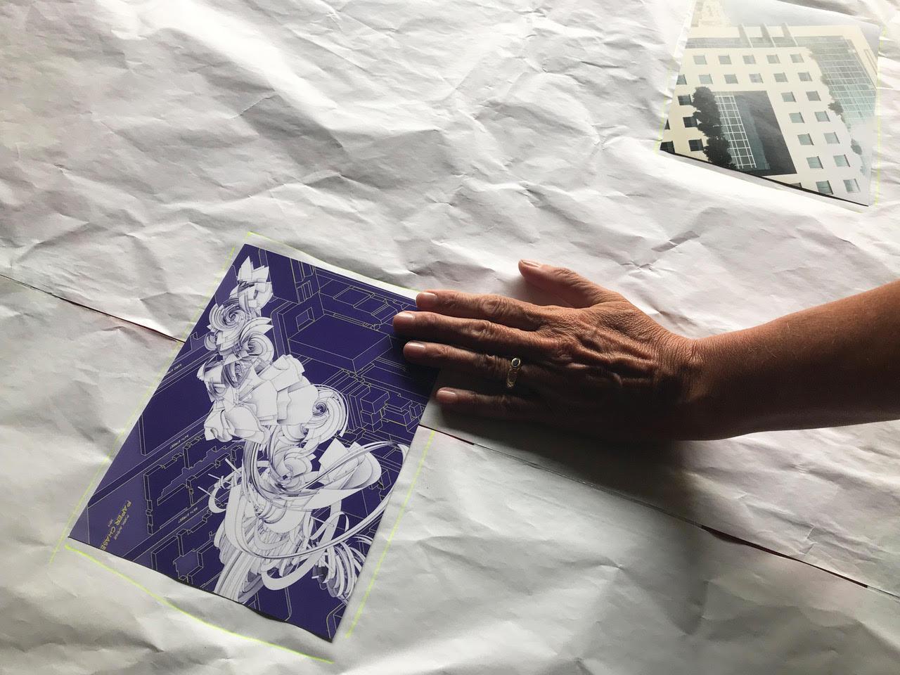 Atelier créatif Cycle 10, Déservillers, août 2020 ©Marcel Schiess
