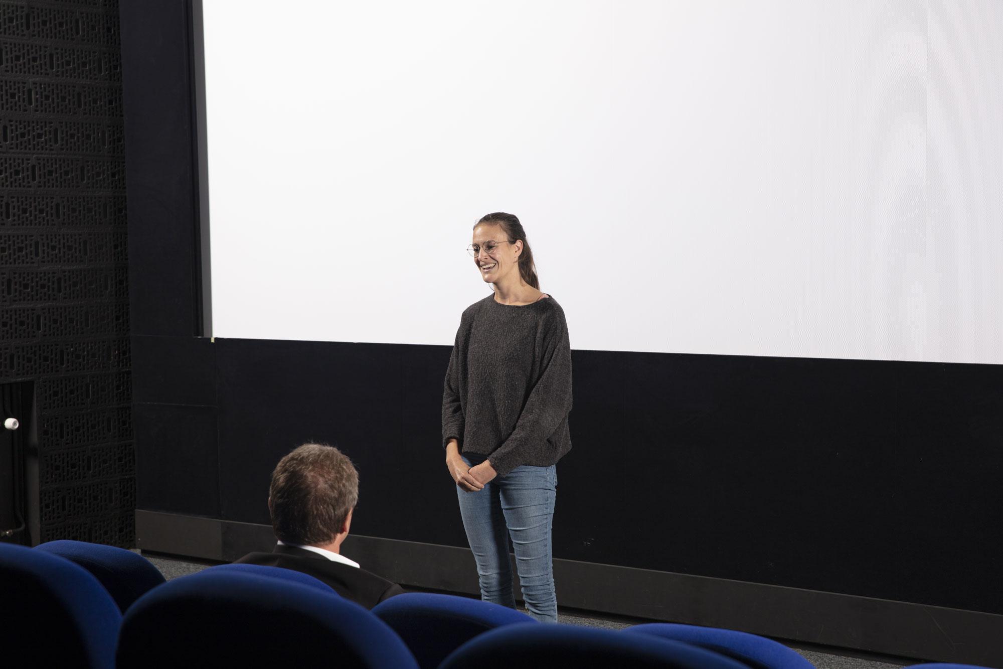 Amandine Kolly, réalisatrice / © Maciej Czepiel