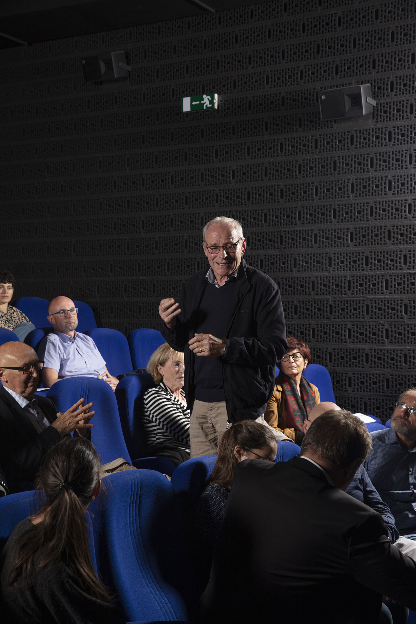 Pierre Hirschy, ancien Conseiller d'Etat et ancien Président de SFMC / © Maciej Czepiel